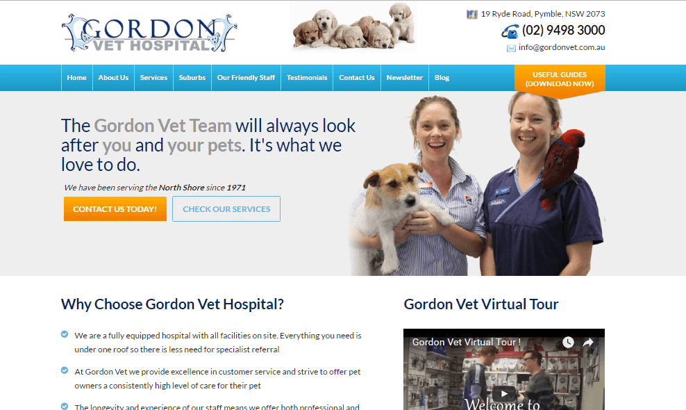 New website showcases best-selling points for GVH