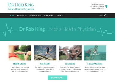 Dr Rob King