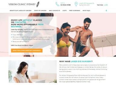 Vision Clinic Sydney