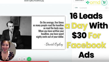 16 leads a day with facebook ads