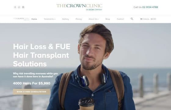 crown clinic home