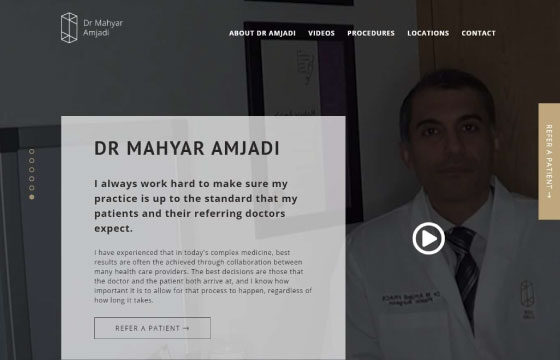 dr amjadi home