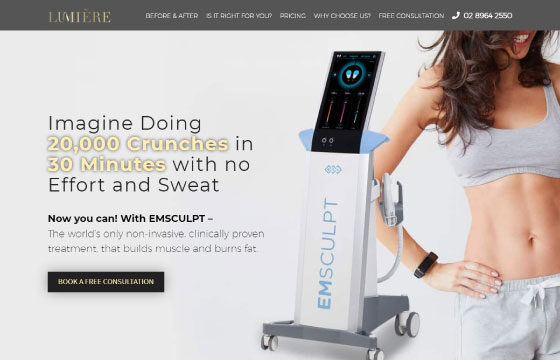 lumiere beauty clinic emsculpt
