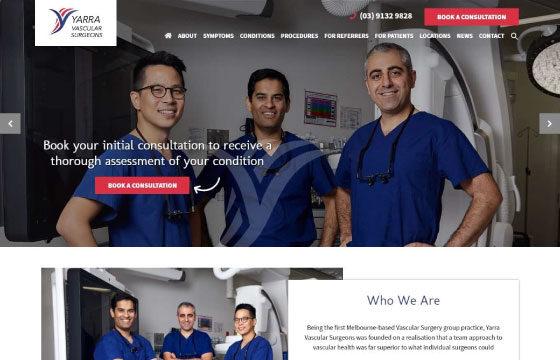 Yarra Vascular Surgeons home