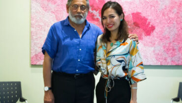 Huyen Truong With Dr Chandran Arianayagam Marketing For Plastic Surgeons