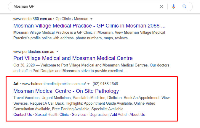 gp paid search advertising
