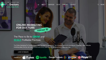Online Marketing For Doctors New Website