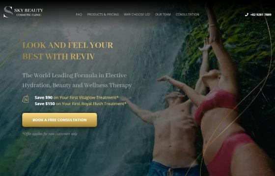 sky beauty clinic reviv