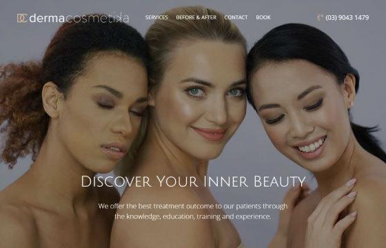 derma cosmetika home page