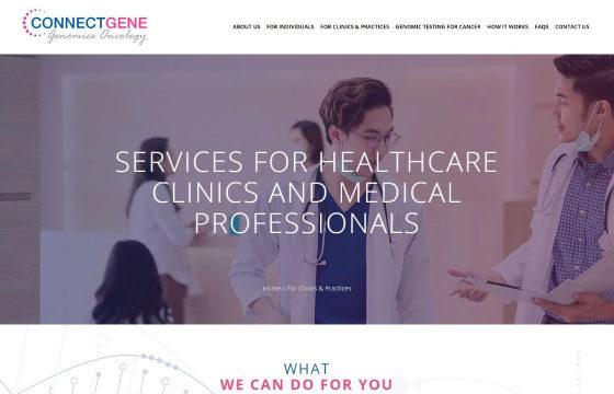 cg genomics oncology clinics page