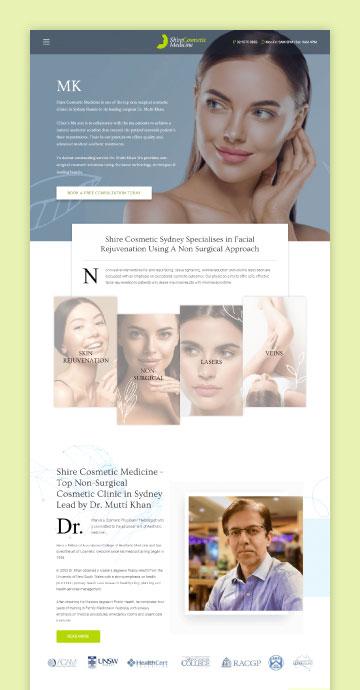 shire cosmetic medicine