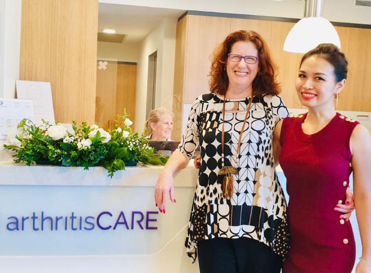 arthritis care testimonial