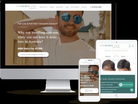web design for medical practices
