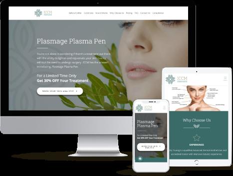 web development for cosmetic & plastic surgeons