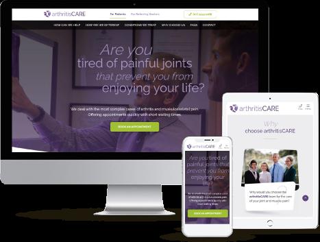 web development for Rheumatologists